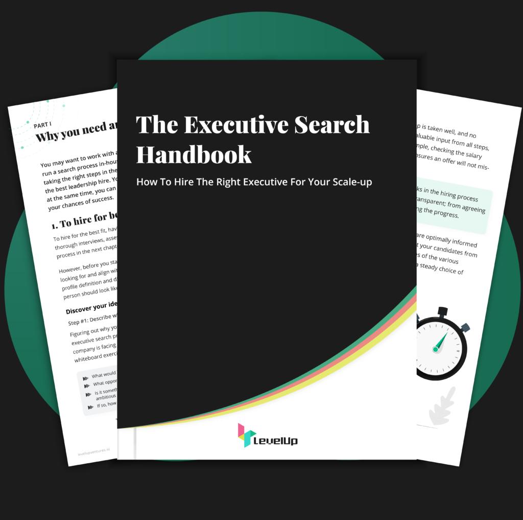 Executive search handbook cover